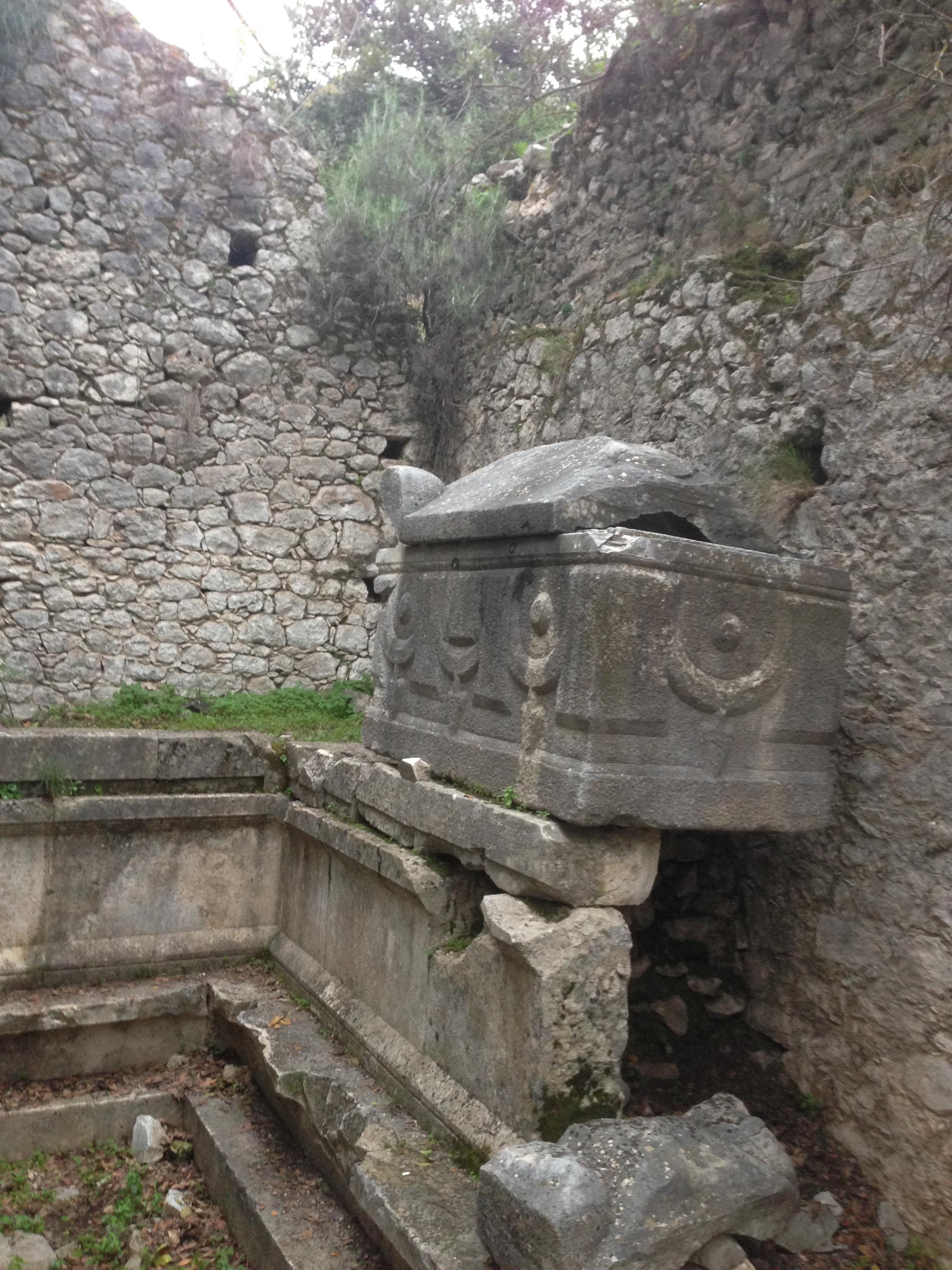 Tomb fo Marcus Aurelius