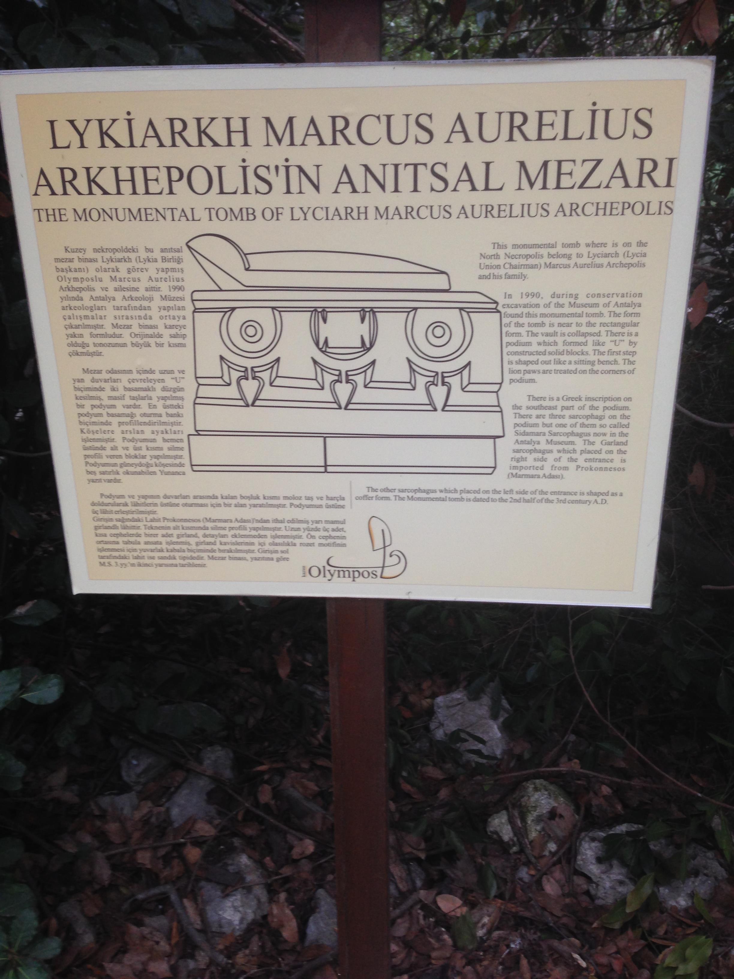 Tomb Notice
